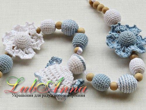 Вязаные украшения от lubanna (слингобусы для малышей) Рождественское фото
