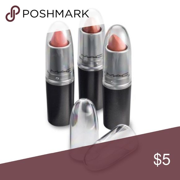 Clear Acrylic Lipstick Caps 🚫No Trades🚫 Replaces Original Individual MAC Lipstick Caps so you can see your favorite lipstick colors easily. Caps only fit authentic Mac lipsticks. Price is for one cap, bundle to save more! MAC Cosmetics Makeup Lipstick