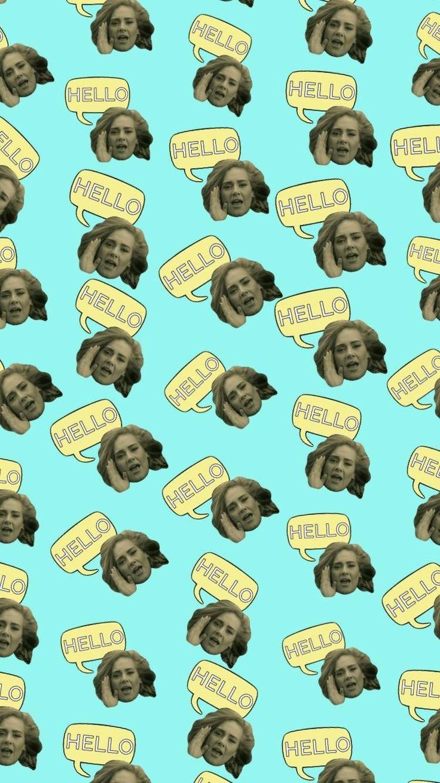 #Adele #Hello #wallpaper