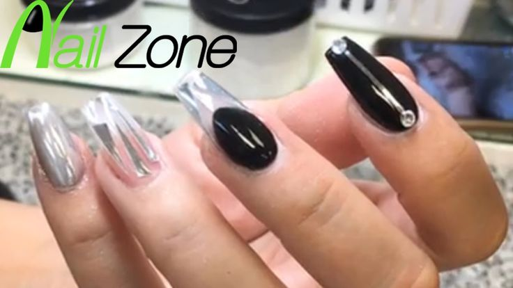 23 best nailzone images on pinterest link nail art designs and nailzone black clear gel nail art prinsesfo Image collections