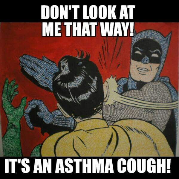 Don't run from me! I'm not contagious! #prednisone #allergies #asthma #chronicillness