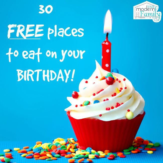 The 25 best Freebies on your birthday ideas on Pinterest