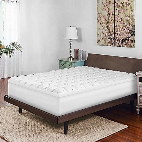 Therapedic Reg Gel Infused Baffle Box Memory Foam Mattress Topper
