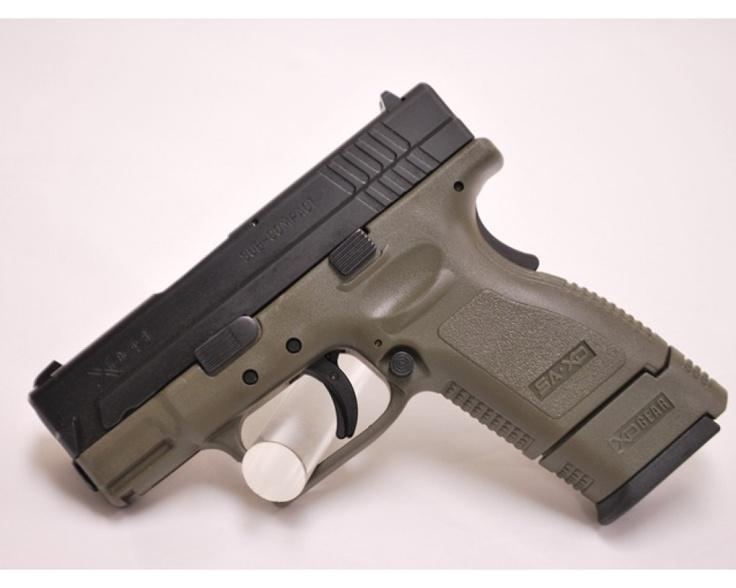 Springfield XD9 Subcompact OD green, 9mm