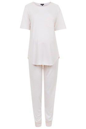 MATERNITY Striped Pyjama Set - Topshop