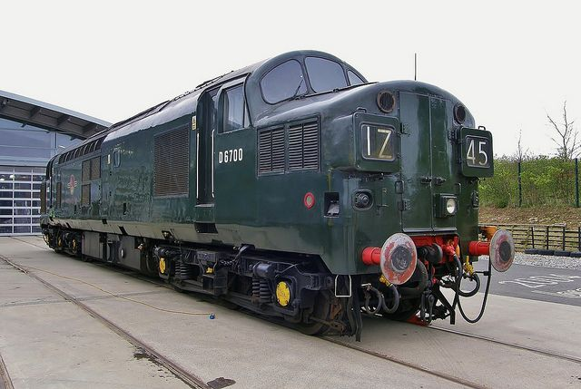 English Electric Type 3 (Class 37) Diesel Locomotive No. D6700 at NRM York