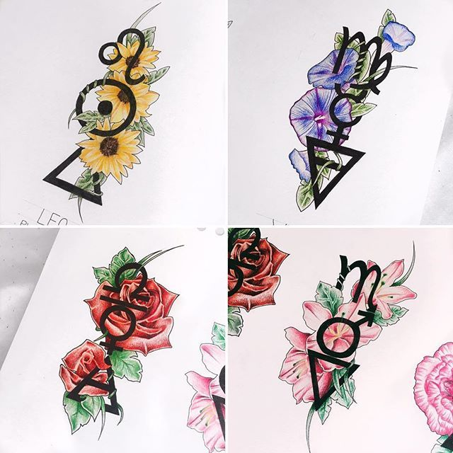25+ Best Ideas About Leo Zodiac Tattoos On Pinterest