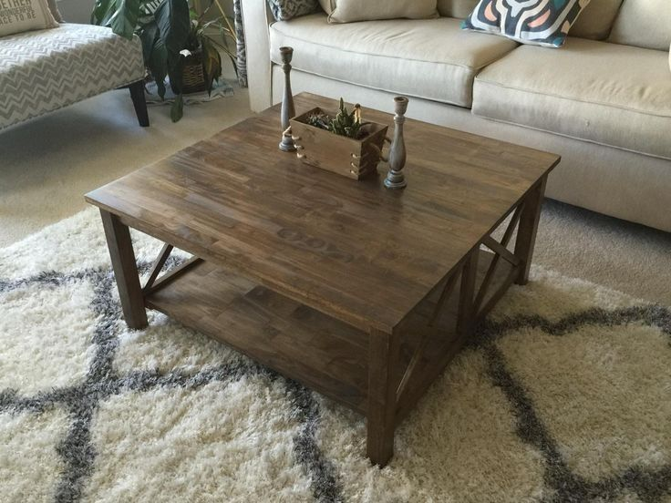 Unfinished Wood Coffee Table Bazaare Pertaining To International Concepts Furniture 32073 Coffee Table Square Square Wood Coffee Table Coffee Table