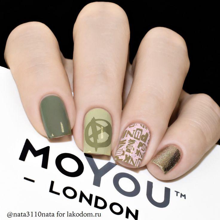 Пластина для стемпинга MoYou London Punk 03 - купить с доставкой по России и СНГ.