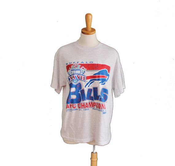Vintage 1993 Buffalo Bills Super Bowl AFC by bluebutterflyvintage, $22.00