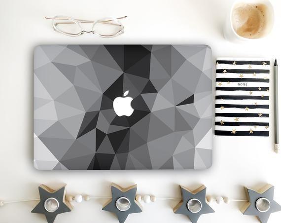 Abstract Geometric MacBook Skin Decals Triangle Macbook Pro Cover Macbook Air Sticker Macbook Pro 13