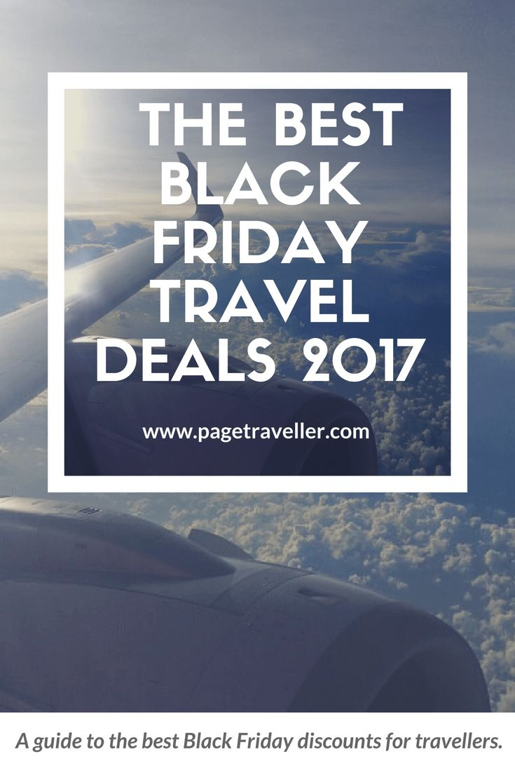 The Best Black Friday Travel Deals