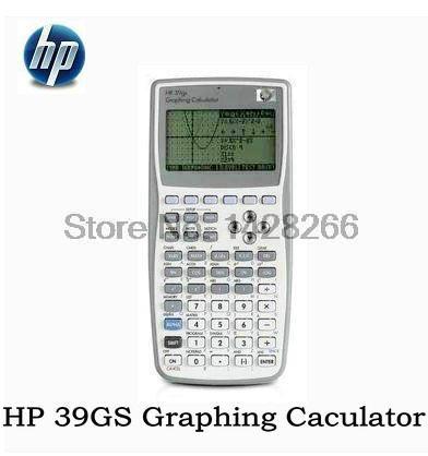 Envío gratis 1 unidades nueva original calculadora gráfica para hp calculadora gráfica 39gs enseñar sat/ap prueba para hp39gs