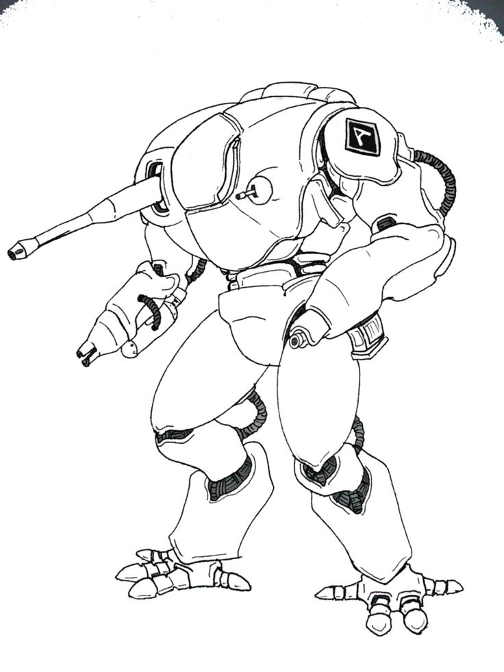 Fox Hound Piont Defence Mech by Angryspacecrab on DeviantArt