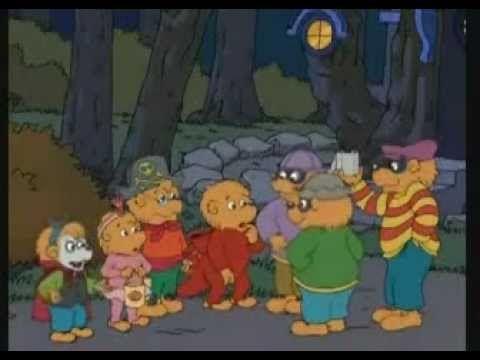 "Happy TrickOween!!!   ***The Berenstain Bears""   Trick or Treat"