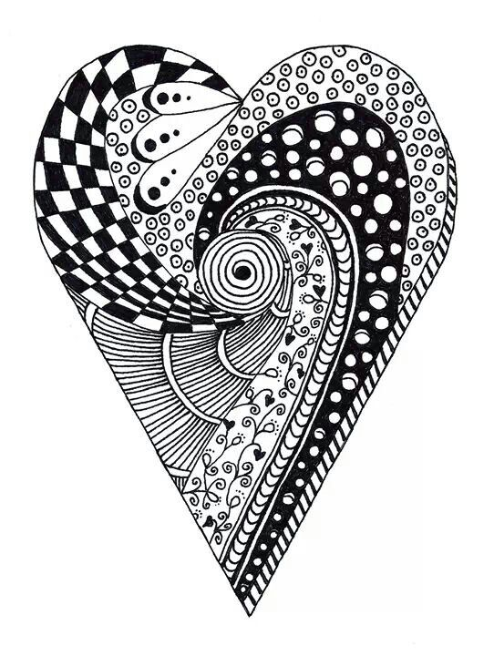 Catch Up! And Other Things… | Carla Barrett |Zentangle Heart Graphics