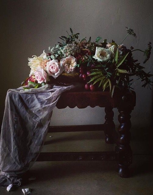 #florals Dutch masters inspiration #silkandwillow