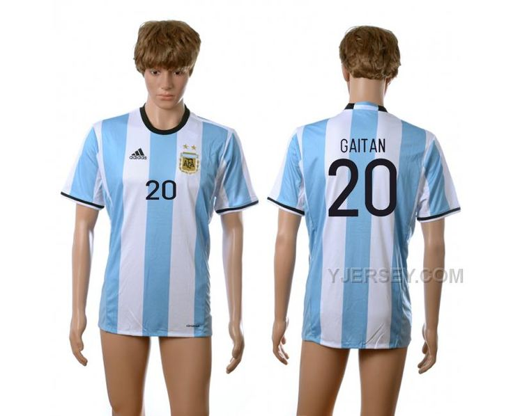 http://www.yjersey.com/argentina-20-gaitan-home-2016-copa-america-centenario-thailand-soccer-jersey.html ARGENTINA 20 GAITAN HOME 2016 COPA AMERICA CENTENARIO THAILAND SOCCER JERSEY Only $35.00 , Free Shipping!