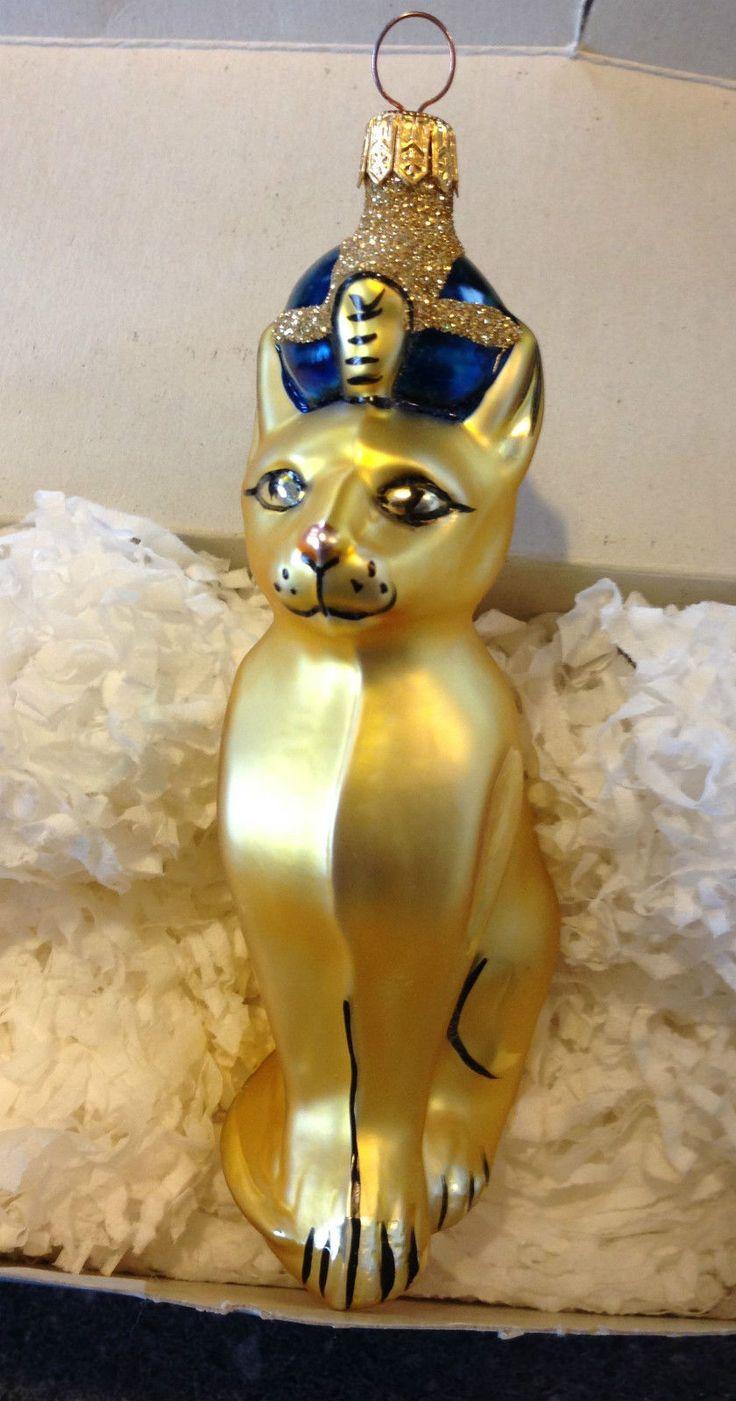 686 Best Cat Christmas Ornaments Images On Pinterest Cat