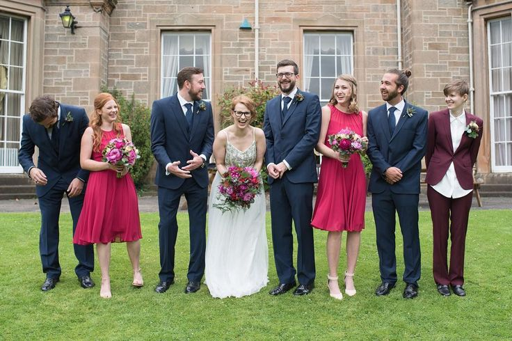 Congratulations to Emily and Randall! I had such a lovely day on Friday photographing their transatlantic wedding at Abden House. Here's a wee preview of their photos.  Venue: Abden House Edinburgh First Bride's dress: Needle and Thread Bridesmaids' dresses: @gemmasargent  Hair/MUA: @mhm_styling  Florist: @narcissus_flowers