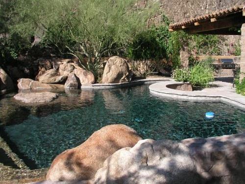 Pool boulder by Greg Trutza