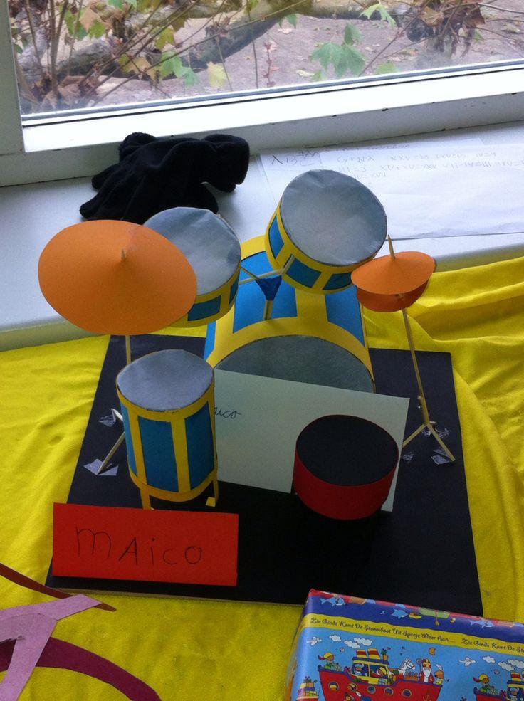 Sinterklaas surprise drumstel