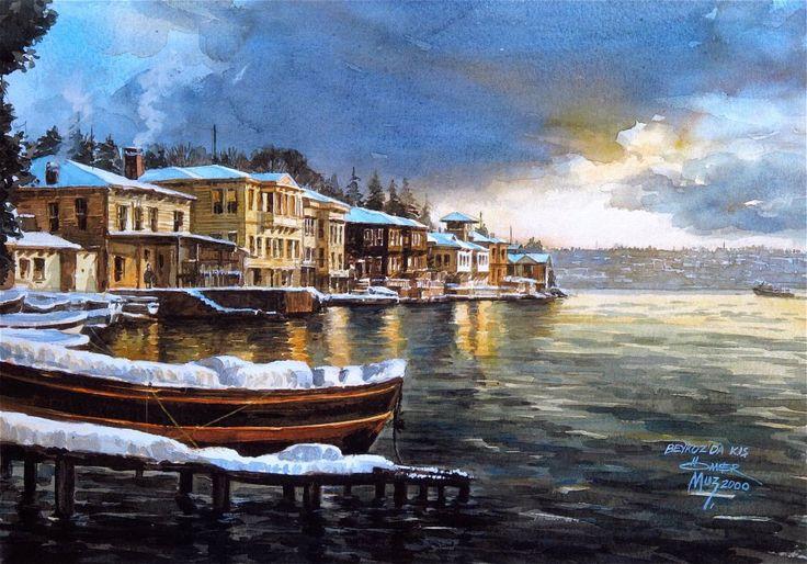 Ömer Muz'dan...Ömer Muz İle Suluboya resim çalışmaları Hobi Sanat Merkezi'nde detaylı bilgi için 0216 565 3572'i arayabilirsiniz...