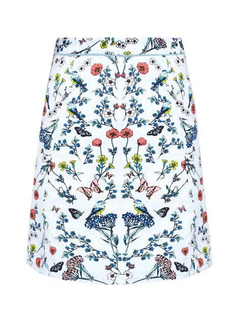 YUMI Floral Skater Skirt | House Of Fraser