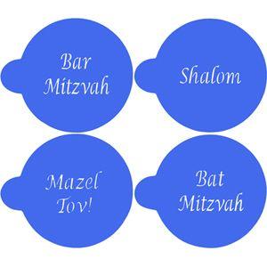 Jewish Greetings Cookie Stencils