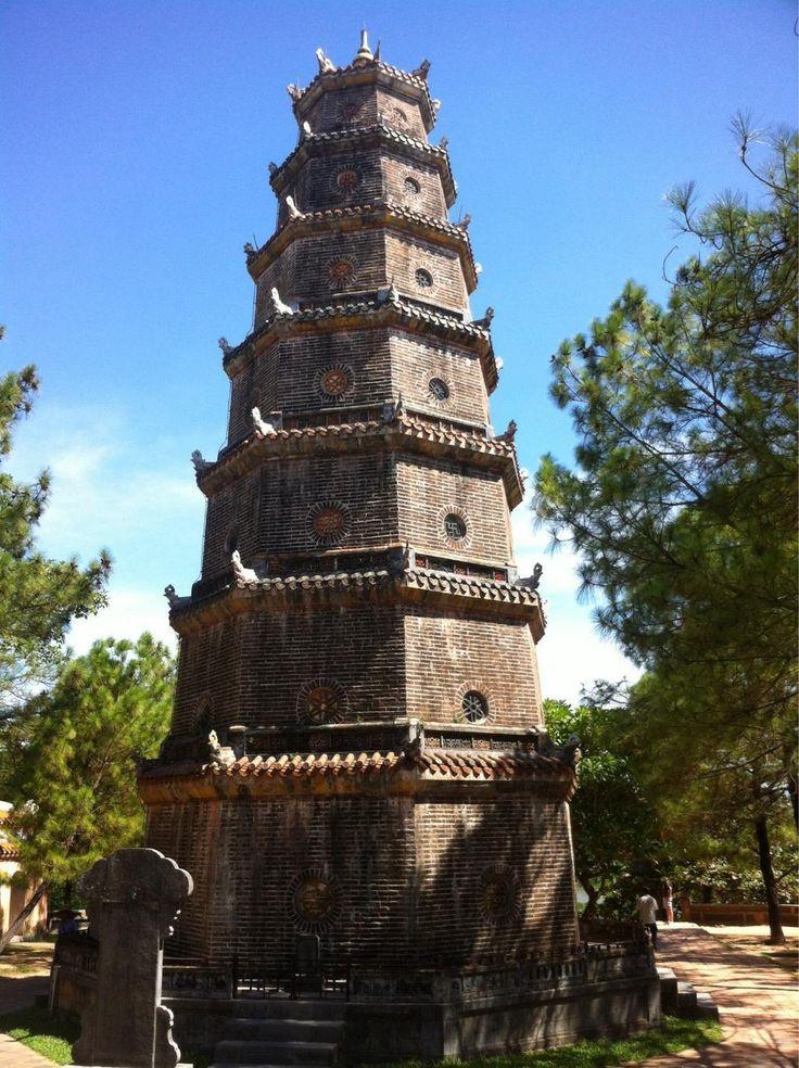 八角七層の塔、「ティエンムー寺」について。ベトナム 旅行・観光の見所を紹介!