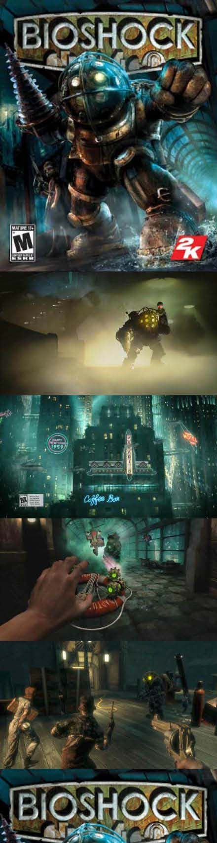 #BioShock is one of the best #SurvivalHorror games we have ever played! http://www.levelgamingground.com/bioshock-review.html