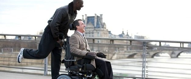 The Intouchables   17 Feel-Good French Films You Should Definitely Stream On Netflix~ This was one great movie... be sure to catch it