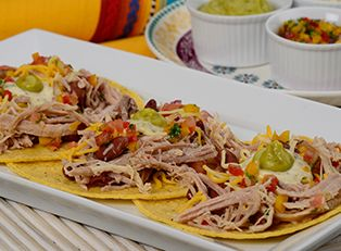 Tacos de Cerdo Desmechado Plumrose
