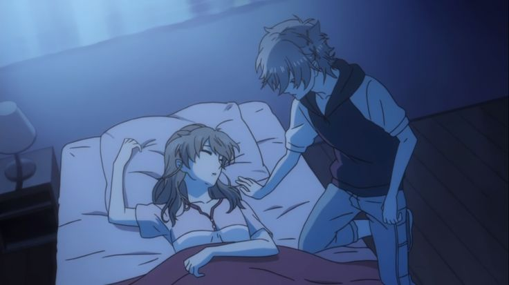 Futo trying to kiss Chi | Brothers conflict (anime) | Pinterest ... Amnesia Anime Kiss