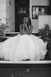 My first photo shoot in Made2me' s stunning wedding dresses!
