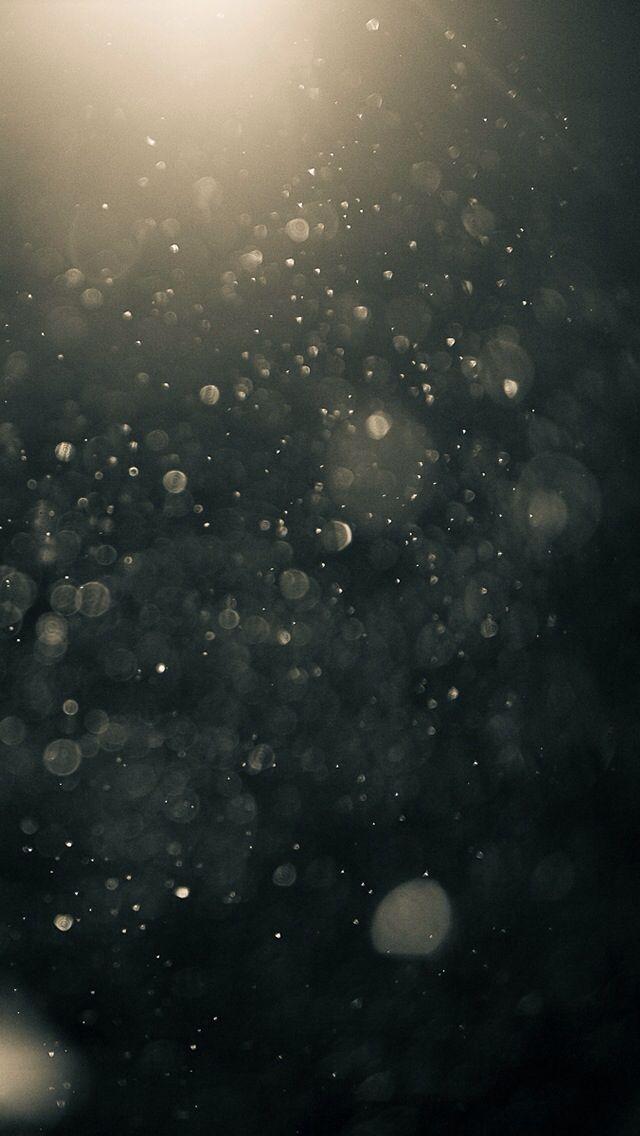 Regen bei Nacht