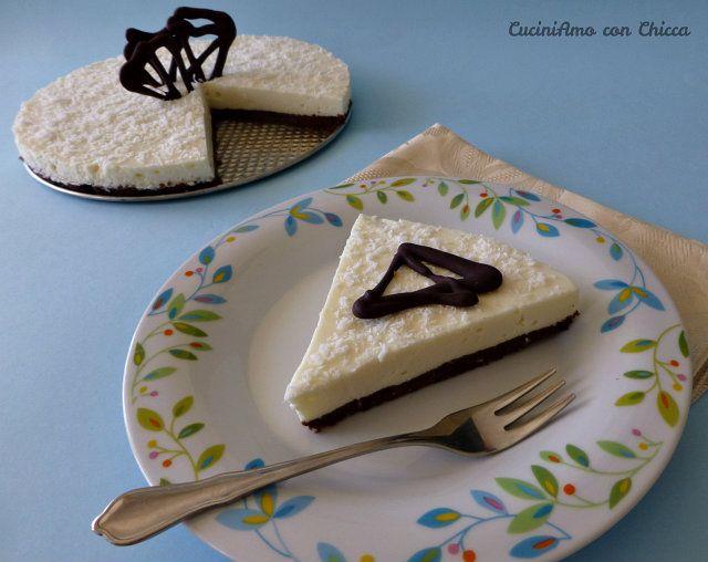cheesecake al cioccolato bianco |CuciniAmo con Chicca