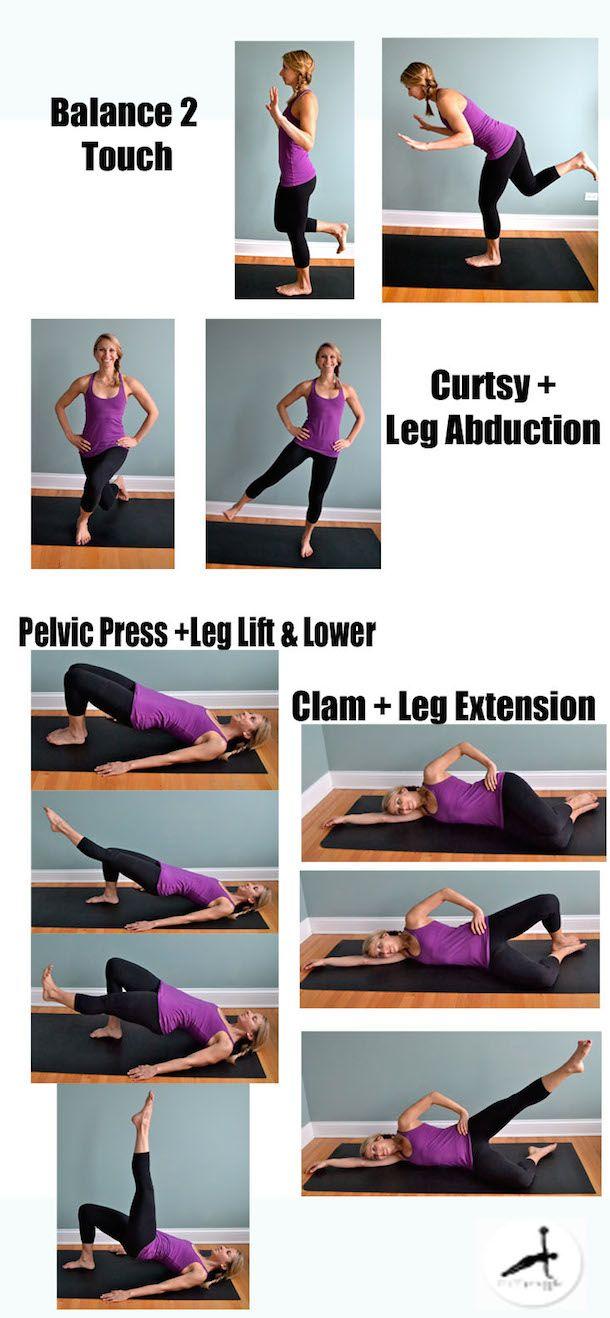 4 Pilates Moves Every Runner Should Try Yoga For RunnersKnee Exercises