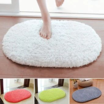 บอกต่อ  Moonar Home Living Decor Anti-slip Warm Bedroom Carpet Cute OvalVelvet Mat Thicken Door Pad 40*60CM (White) - intl  ราคาเพียง  172 บาท  เท่านั้น คุณสมบัติ มีดังนี้ Anti-slip&bottom&design&convenient&for&you&to&use Item&Type:&Bedroom&Blanket&Mat Material:&Plush,&Sponge Application:&Bedroom,&Living&Room,&etc. Shape:&Oval Color: Brown, Grey, Light coffee, Green, Rose, White,Khaki Size:&40*60cm/15.7*23.6in&(L*W) Carpet, door pat, sofa mat