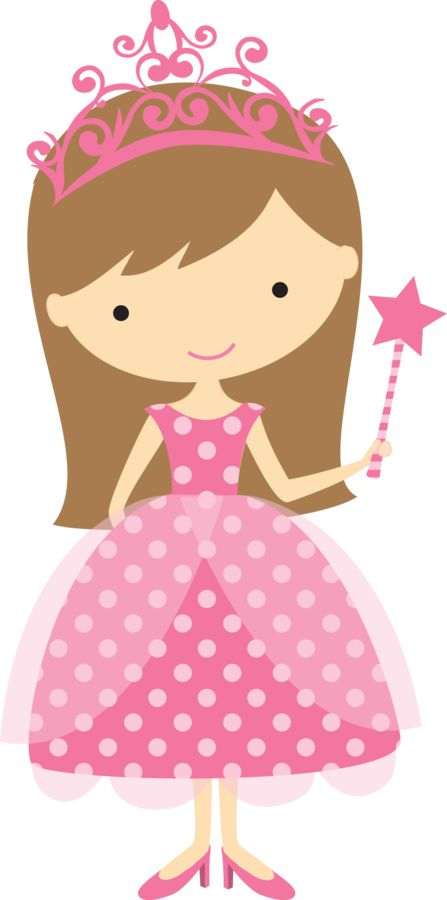 Cute Clipart ❤ Minus - Say Hello! Girl Princess