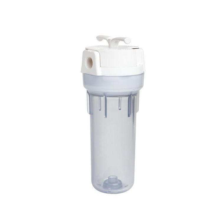 Valve-In-Head Whole Home Water Filtration System, Clear