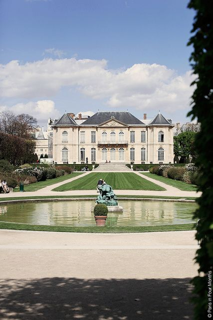 Musée Rodin by Paris, a fantastic garden...how the hell did I miss this? Next time fo sho!