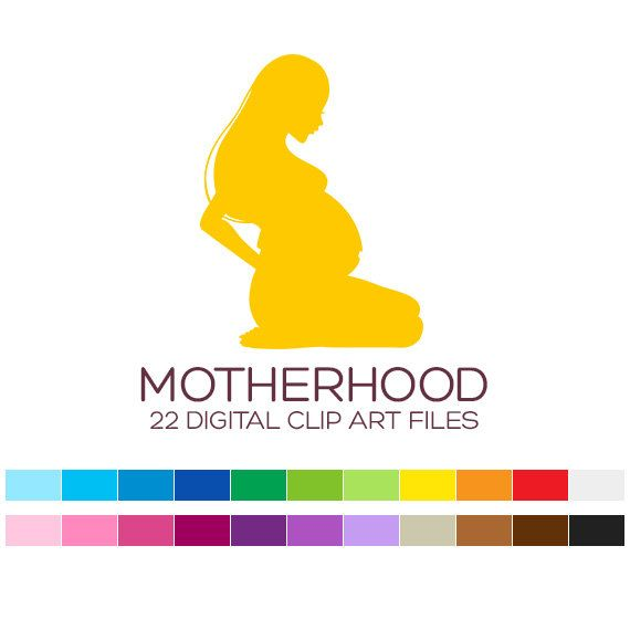 Mother Clipart for Personal & Commercial Usage  22 by coloryourway