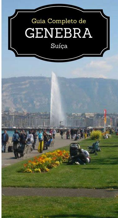 Você está planejando conhecer a Suíça? Não deixe de incluir Genebra, a Capital da Paz. Embora pequena, a cidade oferece muitas opções para o turista. Neste guia nós tentamos mostrar quase todas elas para você!