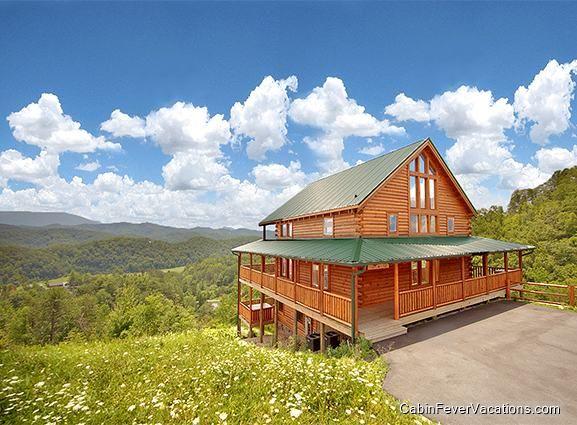 Ridgeview lodge gatlinburg cabins gatlinburg cabin for Vacation cabin rentals pigeon forge tn