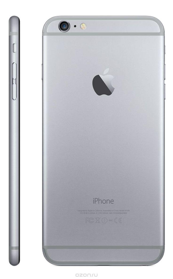 Apple iPhone 6 Plus 16GB, Space Gray - купить в разделе электроника apple iphone 6 plus 16gb, space gray по лучшей цене от интернет-магазина OZON.ru 50.990 или за 2.702р в мес