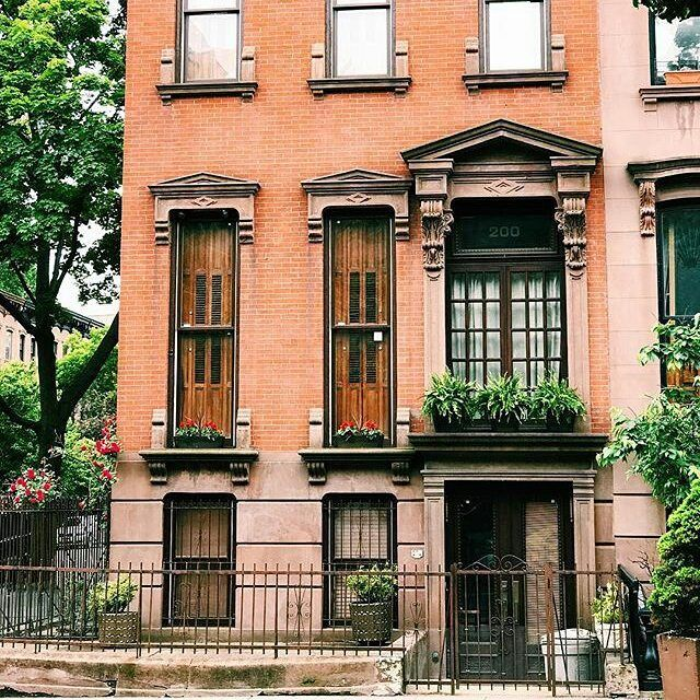 New York City Boroughs ~ Brooklyn | Brownstones in the Clinton Hill Historic District