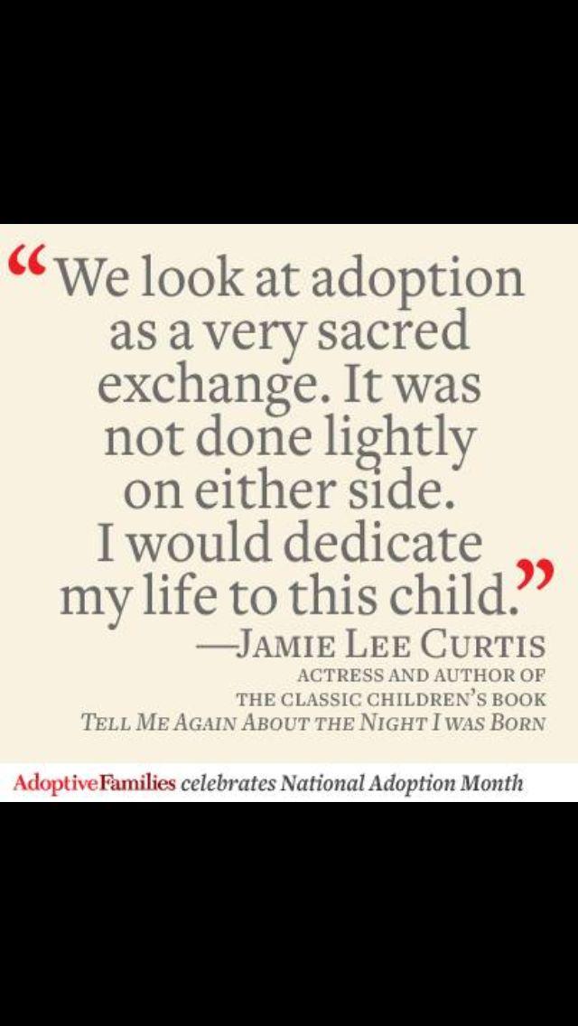Sacred.  #adoption #adopt.   November is National Adoption Month
