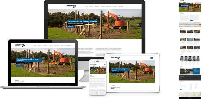 Website design by Forge Online using WordPress. http://www.forgeonline.co.nz/website-design/geoconsult/