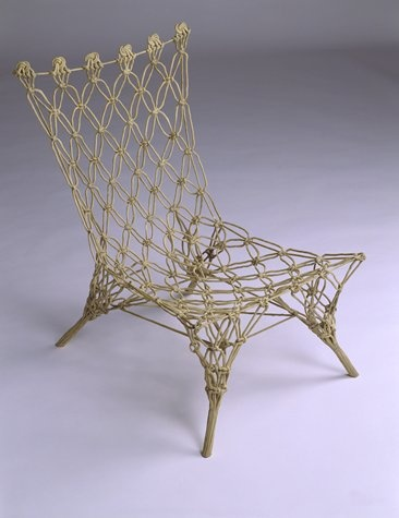 Knotted chair by Marcel Wanders for Droog Design